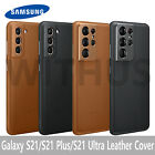Samsung Galaxy S21 5G S21 Plus S21 Ultra Leather Cover Case(Official)