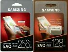 SAMSUNG EVO Plus Micro SD Card SDHC CLASS10 Card & Adapter 128GB 256GB FREE SHIP