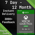 Xbox Live Gold & Game Pass Ultimate Code - 1, 2, 3, 6, 12 Month & 7, 14 Day Keys