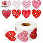 500X Love Heart Shaped Seal Label Sticker Scrapbooking Stationery Gift Packaging