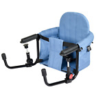 Portable Folding Clip On Table High Chair Hook Feeding Seat Hanging Clap Support