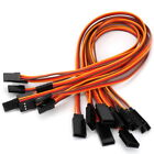 10 X Male to Female JR Connector Servo Extension Cable 30cm Lead 3 Pin Wire Cord