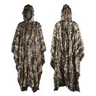 3D Hunting Bionic Camo Poncho Ghillie Suit Sniper Birdwatch Clothing Cape Cloak