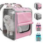 Pet Backpack Carriers for Small Puppy Dog Cat Outdoor Soft Mesh Travel Tote Bag