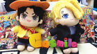 One Piece Sanji 20cm Doll Soft Plush Clothes Stuffed Toys Pillow Props Gifts N
