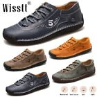 Men's Leather Loafers Comfort Walking Driving Shoes Deck Casual Dress Sneakers