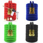 Water Hose with Nozzle Sprayer High Pressured TPE Aluminum for Garden Car Wash
