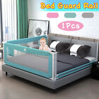 """79"""" Adjustable Infant Bed Guard Rail Toddler Baby Safety Barrier Protection US"""