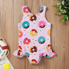 Girls One Piece Swimsuit Toddlers Donut Bathing Suit Baby Girl Swimsuit