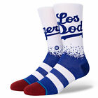 Stance Men's MLB Los Angeles Dodgers Connect Socks White Footwear Uncommon Th...