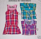 Op. DROP-WAIST DRESS & TANK TOP SET – PINK or LAVENDER – GIRLS SIZE 10-12 -NWT