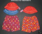 SWIM TRUNKS - DIAPER  - UV PROTECTION - HAT - SET - BOYS - INFANT SIZES - NWT