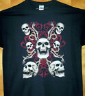 """"""" TRIBALSKULL & ARMS """" Black T Shirt Sz Sm - 6XL  Up In Arms & Legs"""