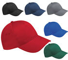 THE ULTIMATE HEAVY COTTON BASEBALL CAP 10 COLOURS