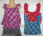 Op. – TOP – ON or OFF the SHOULDER - VIOLET - RED or BLUE – JR SZ S  M  XL - NWT