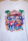 "New Gray T Shirt "" BIG FIN SPORTS BAR ""  Sz SM - 5XL"
