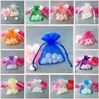 Organza Tulle Wedding Candy Gift jewelry Favour Bags
