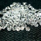 Round 2.25mm AA Cubic Zirconia White CZ Stone Lot