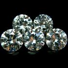 Round 4mm AA Cubic Zirconia White CZ Stone Lot