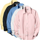 Dickies Shirt Womens Solid Stretch Woven Long Sleeve Shirts FL020 Colors