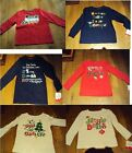 Boys Girls Jumping Beans Brand Xmas Christmas Dads Grandpa Grandma Top 2T 3T 5