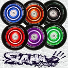 SLAMM Stunt Scooter Wheel with ABEC 5 Bearings & Spacer / Anodised Core / 100mm