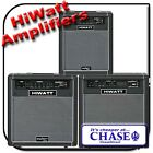 HIWATT MAXWATT ELECTRIC BASS GUITAR AMPLIFIER - COMBO AMP - 20 or 60 or 100 Watt
