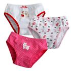 "NEW Vaenait Baby Girl 3 pack of Underwear Briefs Pantie Set "" Puppy Pink Set """