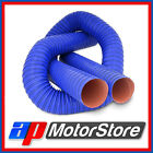 Air Ducting - Silicone Coated Flexible Induction Cold Hot Air Intake Pipe 2 Ply