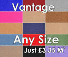 Vantage Twist Felt Back Carpet Any Size £3.35 per Sq Metre Cheapest On Ebay!!!