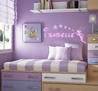 Personalised Disney Tinkerbell Wall Stickers/ Headboard Stickers/ Decals