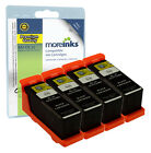 4 Compatible Dell 21/22/23/24 Black Ink Cartridges for All-in-One Printers