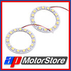 2X Ring Led Smd - Car Light White Xenon Bmw Angel Eyes Headlight Light 12V