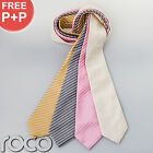 Boys Formal Occasion Ties Full Length Medium Striped Weddings Holy Communion