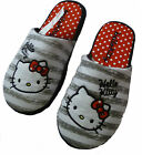 Ladies Hello Kitty Slippers RRP £14.00 Sizes 4 - 7 New Mules
