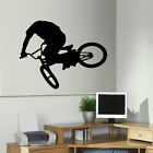 LARGE BMX B M X CHILDRENS WALL ART BEDROOM MURAL STICKER TRANSFER VINYL DECAL