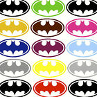 SMALL BATMAN BAT MAN LOGO CHILDRENS WALL ART STICKERS TRANSFER STENCIL DECAL