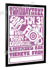 Pink Floyd Concert Poster Torquay Town Hall 1967