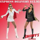 ADULT WOMENS ELVIS PRESLEY 50S KING ROCK AND ROLL SMIFFYS FANCY DRESS COSTUMES