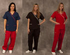 Women's Scrubs Set, Free Shipping, High-Quality,Peach Finished, Easy Care,XS-2XL