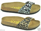 PAPILLIO BY BIRKENSTOCK MADRID LEOPARD FOOTBED SLIP ON MULE SANDALS SIZE 3-9 NEW
