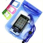 Waterproof mobile phone camera beach dry pouch bag case android iphone 4 5