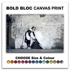 Maid Grafitii BANKSY  Canvas Art Print Box Framed Picture Wall Hanging BBD