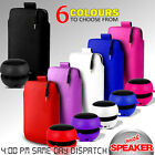 LEATHER PULL TAB POUCH SKIN CASE COVER AND MINI SPEAKER FOR VARIOUS LG PHONES