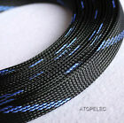 """14MM 9-16"""" Tight Braided PET Expandable Sleeving Cable Wire Sheath"""