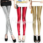 HOT Fashion Women's Girl's Milk Silk Sexy Dot Shiny Skinny Leggings