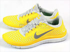 Nike Free 3.0 V4 Chrome Yellow/Reflect Silver-Platinum Lightweight 511457-700