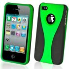 NEW STYLISH GREEN GRIP SERIES HARD CASE COVER BUMPER FOR APPLE iPHONE 4  4G 4S