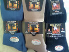 Mens Socks 6 Pair Pack Cotton XL Extra Large Size 11 12 13 14 Big Foot