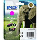 Genuine Epson 24 / T2423 Magenta Printer Ink Cartridge